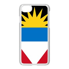 Flag Of Antigua & Barbuda Apple Iphone 7 Seamless Case (white)