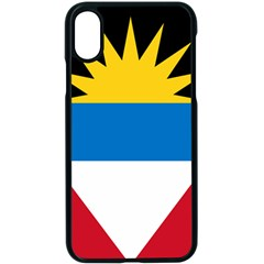 Flag Of Antigua & Barbuda Apple Iphone X Seamless Case (black) by abbeyz71