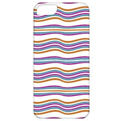 Colorful Wavy Stripes Pattern 7200 Apple Iphone 5 Classic Hardshell Case