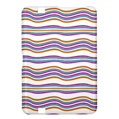 Colorful Wavy Stripes Pattern 7200 Kindle Fire Hd 8 9