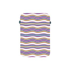 Colorful Wavy Stripes Pattern 7200 Apple Ipad Mini Protective Soft Cases