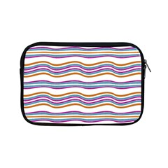 Colorful Wavy Stripes Pattern 7200 Apple Ipad Mini Zipper Cases
