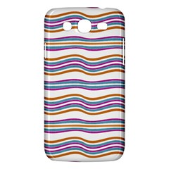 Colorful Wavy Stripes Pattern 7200 Samsung Galaxy Mega 5 8 I9152 Hardshell Case  by dflcprints