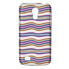 Colorful Wavy Stripes Pattern 7200 Galaxy S4 Mini