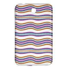 Colorful Wavy Stripes Pattern 7200 Samsung Galaxy Tab 3 (7 ) P3200 Hardshell Case