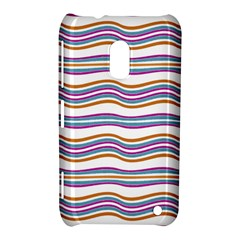 Colorful Wavy Stripes Pattern 7200 Nokia Lumia 620