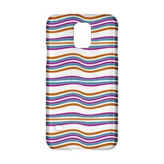 Colorful Wavy Stripes Pattern 7200 Samsung Galaxy S5 Hardshell Case