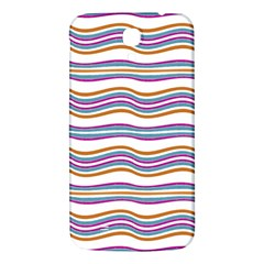 Colorful Wavy Stripes Pattern 7200 Samsung Galaxy Mega I9200 Hardshell Back Case
