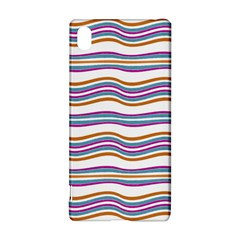 Colorful Wavy Stripes Pattern 7200 Sony Xperia Z3+