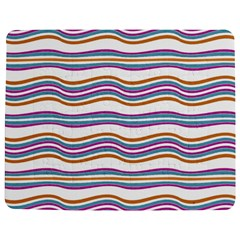 Colorful Wavy Stripes Pattern 7200 Jigsaw Puzzle Photo Stand (rectangular)