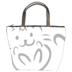 Cat Feline Cute Pet Animal Bucket Bags