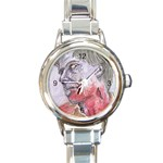 dawn of the dead Round Italian Charm Watch