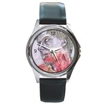 dawn of the dead Round Metal Watch