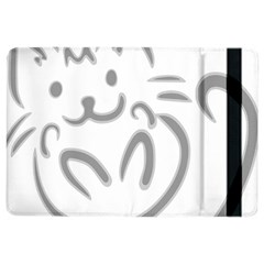 Cat Feline Cute Pet Animal Ipad Air 2 Flip