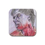 dawn of the dead Rubber Square Coaster (4 pack)