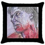 dawn of the dead Throw Pillow Case (Black)