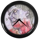 dawn of the dead Wall Clock (Black)