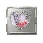 dawn of the dead Mega Link Heart Italian Charm (18mm)