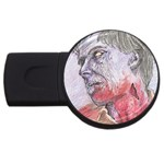 dawn of the dead USB Flash Drive Round (2 GB)
