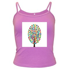 Tree Share Pieces Of The Puzzle Dark Spaghetti Tank