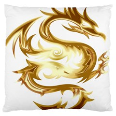 Dragon Animal Beast Creature Large Cushion Case (one Side)