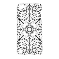 Floral Flower Mandala Decorative Apple Ipod Touch 5 Hardshell Case by Simbadda