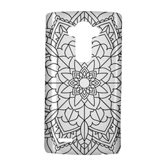 Floral Flower Mandala Decorative Lg G4 Hardshell Case by Simbadda