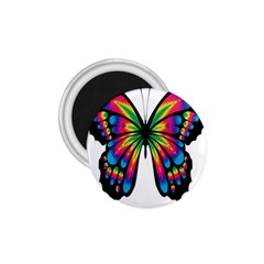 Abstract Animal Art Butterfly 1 75  Magnets