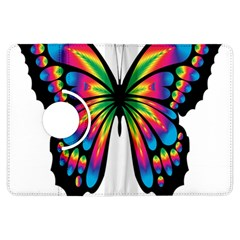 Abstract Animal Art Butterfly Kindle Fire Hdx Flip 360 Case
