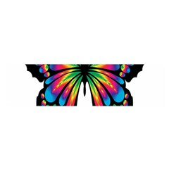 Abstract Animal Art Butterfly Satin Scarf (oblong)