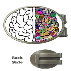 Brain Mind Anatomy Money Clips (oval)