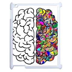 Brain Mind Anatomy Apple Ipad 2 Case (white) by Simbadda