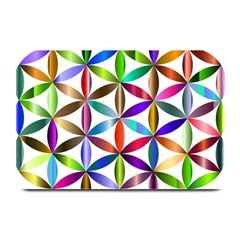 Flower Of Life Sacred Geometry Plate Mats