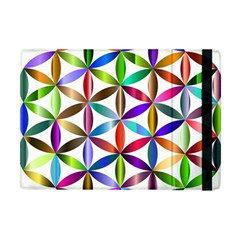Flower Of Life Sacred Geometry Apple Ipad Mini Flip Case