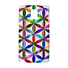 Flower Of Life Sacred Geometry Samsung Galaxy Note 4 Hardshell Case