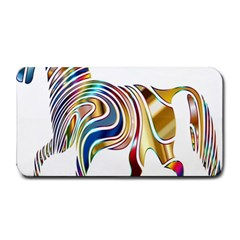 Horse Equine Psychedelic Abstract Medium Bar Mats