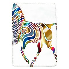 Horse Equine Psychedelic Abstract Flap Covers (l)