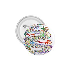 Dragon Asian Mythical Colorful 1 75  Buttons by Simbadda