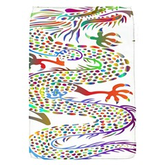 Dragon Asian Mythical Colorful Flap Covers (s)  by Simbadda