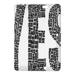 Yes No Typography Type Text Words Kindle Fire Hdx 8 9  Hardshell Case