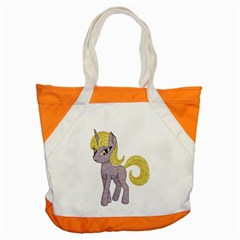 Unicorn Narwhal Mythical One Horned Accent Tote Bag