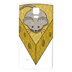 Cheese Rat Mouse Mice Food Cheesy Galaxy Note 4 Back Case