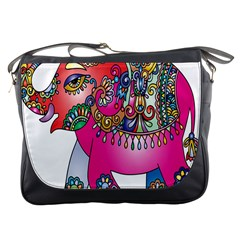 Elephant Pachyderm Animal Messenger Bags
