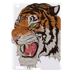 Tiger Tiger Png Lion Animal Apple Ipad 3/4 Hardshell Case (compatible With Smart Cover) by Simbadda