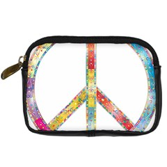 Flourish Decorative Peace Sign Digital Camera Cases