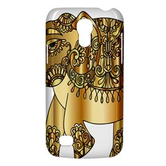 Gold Elephant Pachyderm Galaxy S4 Mini by Simbadda