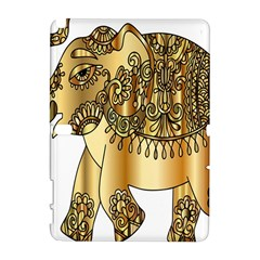 Gold Elephant Pachyderm Galaxy Note 1 by Simbadda