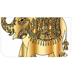 Gold Elephant Pachyderm Lunch Bag by Simbadda