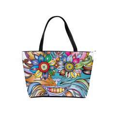 Anthropomorphic Flower Floral Plant Shoulder Handbags