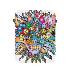 Anthropomorphic Flower Floral Plant Apple Ipad 2/3/4 Protective Soft Cases